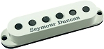 Seymour Duncan SSL-5 Custom Staggered Strat Neck/Bridge Pickup, Parchment, No Logo, Left Hand