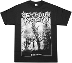 Seymour Duncan Black Winter T-Shirt, Short Sleeve, Extra Large, Black