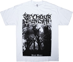 Seymour Duncan Black Winter T-Shirt, Short Sleeve, Extra Large, White