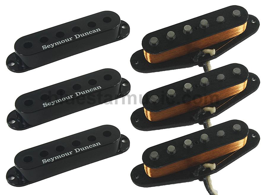 Seymour Duncan California 50\'s Single Coil SSL-1 Pickups, Set of 3 ...