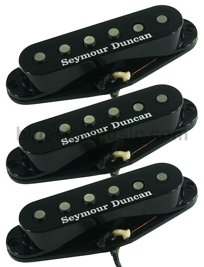 Seymour Duncan California 50\'s Single Coil SSL-1 Pickups, Set of 3 ...