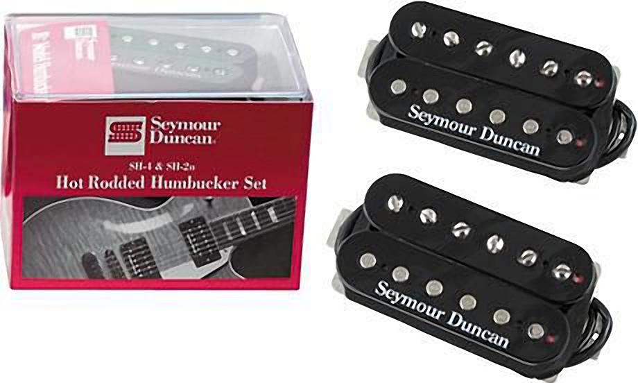 Seymour Duncan Hot Rodded Humbucker Set, SH-2n Neck and SH-4 JB ...