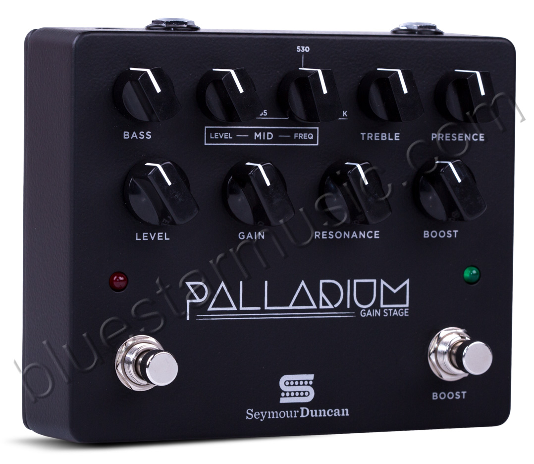 seymour duncan palladium gain stage guitar effects pedal w eq 3 gain stages boost black. Black Bedroom Furniture Sets. Home Design Ideas