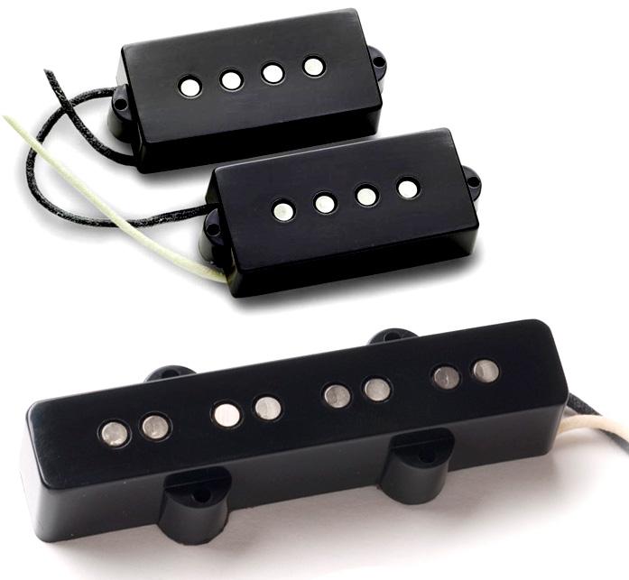 Seymour Duncan SPJB-1 Vintage PJ-Bass Pickup Set, SPB-1 + SJB-1b