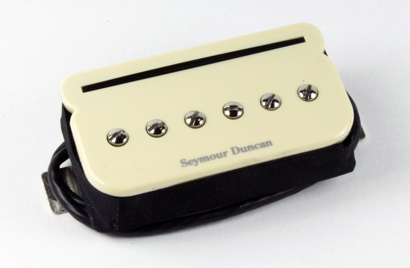 Seymour Duncan SHPR-2b P-Rails Hot P-90 Bridge Pickup, Cream