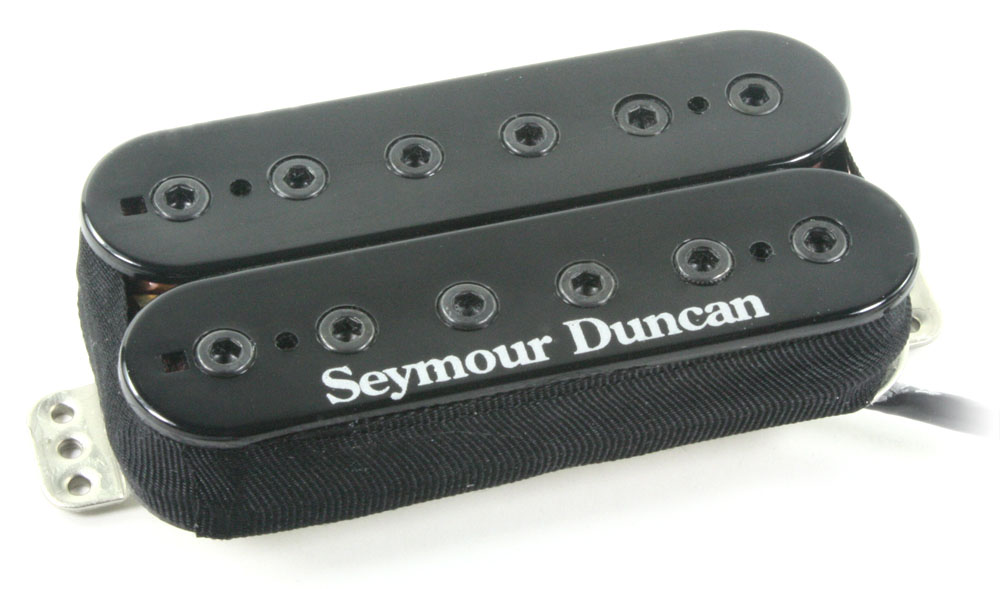 Seymour Duncan TB-10 Full Shred Trembucker Bridge Pickup, Black Cover
