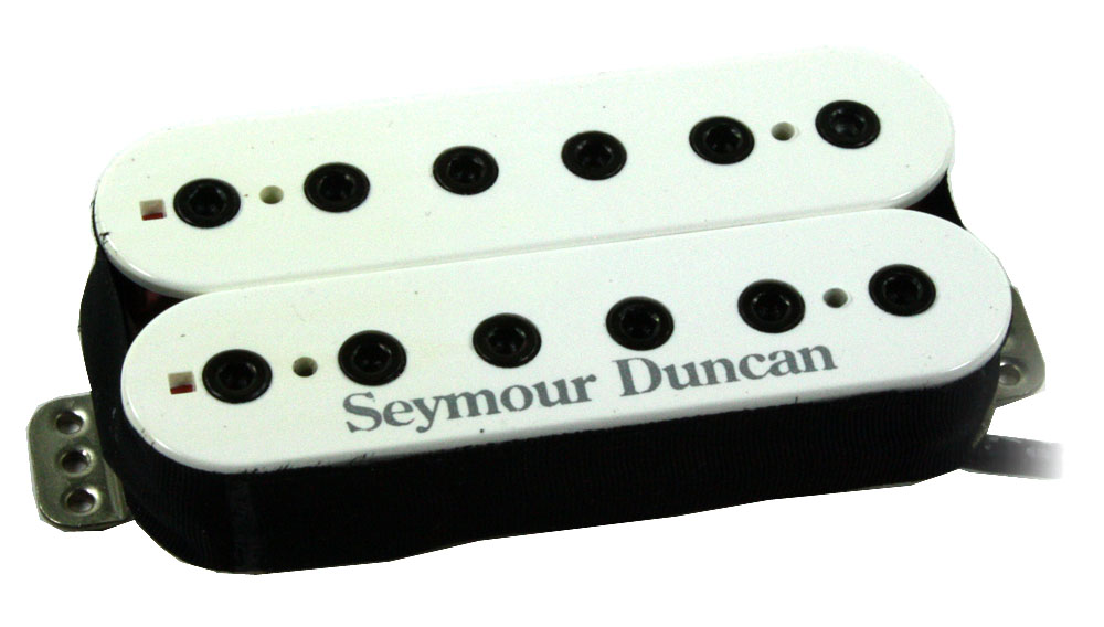 Seymour Duncan TB-10 Full Shred Trembucker Bridge Pickup, White Cover