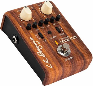 LR Baggs Align Series EQUALIZER Acoustic Preamp/EQ with 6 band EQ and Anti-Feedback