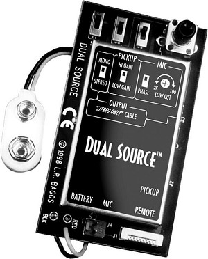 LR Baggs Dual Source with Element and Mic Pickups