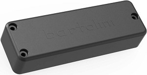 Bartolini BC4CBC-B Soapbar Ceramic Neck Pickup for 4-String Bass Guitar