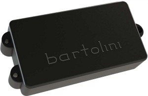 Bartolini MM42CBJD3 MusicMan StingRay 4-String Bass Pickup, Switchable Quad Coil, Black