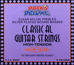 Dr. Ducks Classical/Nylon Guitar Strings High Tension