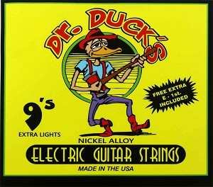 Dr. Duck's Extra-Light Electric Guitar Strings .009-.042