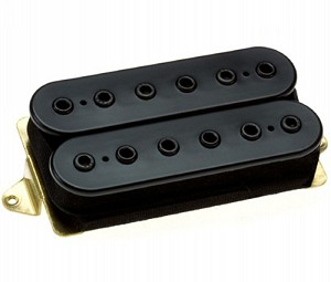 DiMarzio DP151F PAF Pro Alnico 5 Humbucker Bridge/Neck Pickup, F-Spaced, Black