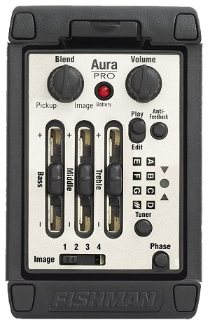 Fishman Aura Onboard PRO Acoustic Imaging Blender Preamp/EQ
