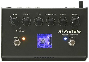 GMF Ai ProTube Acoustic Preamp/EQ/DI with 12AX7 Tube Circuit