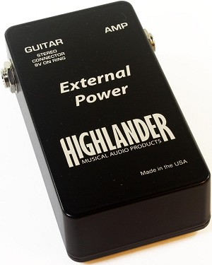 Replacement External Power Supply Box for Highlander IP-1X Inline Guitar Pickup
