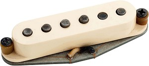 "Seymour Duncan Antiquity II ""Surf"" Middle Pickup for Strat Guitars, RWRP, Hand Aged"
