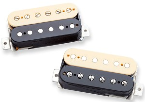 Seymour Duncan APH-2s Alnico II Pro SLASH Bridge and Neck Pickup Set, Zebra/Reverse Zebra