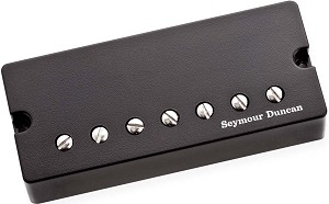 Seymour Duncan Pegasus 7-String Humbucker Active Mount Bridge Pickup, Black