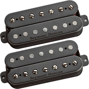 Seymour Duncan Pegasus/Sentient 7-String Humbucker Bridge/Neck Pickup Set, Black