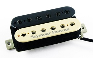 Seymour Duncan SH-12 Screamin' Demon Humbucker Pickup, Zebra
