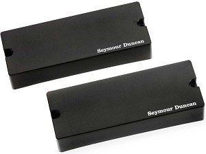 Seymour Duncan SSB-5s Passive Soapbar Phase II 5-String Bass Neck/Bridge Pickup Set