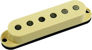 Seymour Duncan SSL-3 Hot Strat Middle Pickup, RWRP, Cream Cover, No Logo