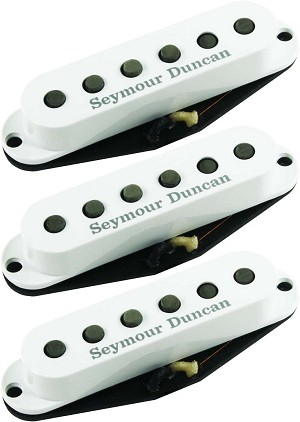 Seymour Duncan SSL-52 Five-Two Alnico 5/2 Strat Neck/Middle/Bridge Pickup Set, White