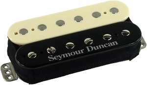 Seymour Duncan TB-6 Distortion Trembucker Bridge Pickup, Reverse Zebra