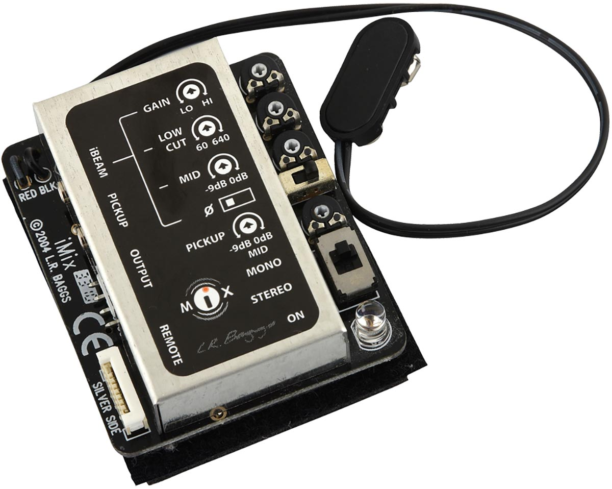 lr baggs imix guitar preamp w ibeam and m1 pickups. Black Bedroom Furniture Sets. Home Design Ideas