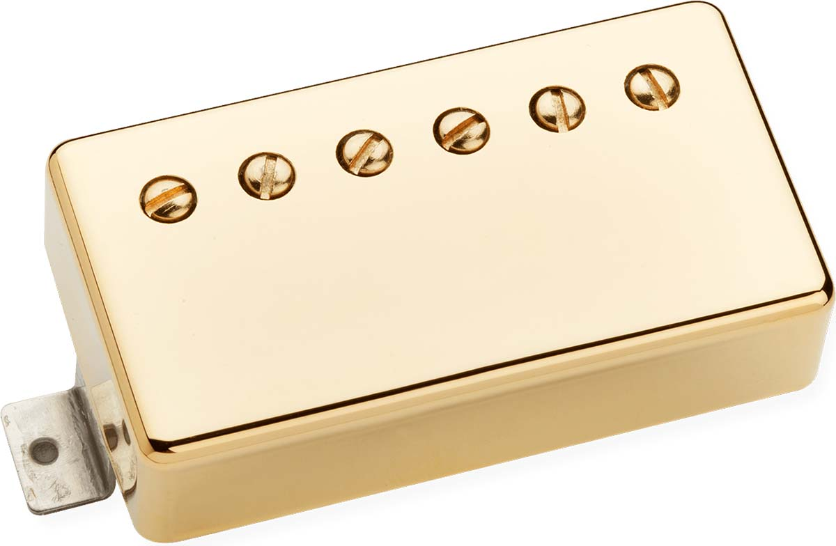 benedetto paf vintage humbucker alnico 5 guitar pickup gold cover. Black Bedroom Furniture Sets. Home Design Ideas