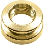 Gold End-pin Strap Button for B-Band Guitar Pickups
