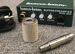 Barcus-Berry 6100 Flute Electret Microphone Pickup with 3000AE Preamp