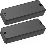 Bartolini BC5CBC-B/T Soapbar Ceramic Neck/Bridge Pickup Set for 5-String Bass Guitar