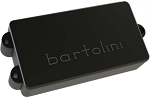Bartolini MM4CBC MusicMan StingRay 4-String Bass Pickup, 3 Hole Mount, Black