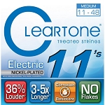 ClearTone 9411 EMP Coated Nickel Plated Electric Guitar Strings Medium .011-.048, NOS