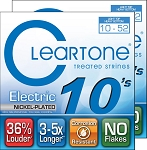 TWO SETS: ClearTone 9420 Nickel Plated Electric Guitar Strings Light Top/Heavy Bottom .010-.052
