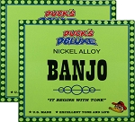 TWO SETS: Dr. Duck's Banjo Strings for 4-String or 5-String Banjos, Nickel Alloy