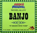 Dr. Duck's Banjo Strings - 5 String Set, for 4-String or 5-String Banjos, Nickel Alloy