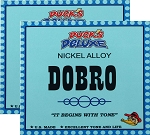 TWO SETS: Dr. Duck's Dobro / Resonator Strings, Nickel Alloy, Made in USA