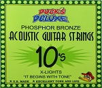 Dr. Duck's Extra Light Phosphor Bronze Guitar Strings .010-.047 XL