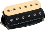 DiMarzio DP100F Super Distortion Ceramic Humbucker F-Spaced Bridge Pickup, Black/Cream