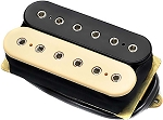DiMarzio DP104F Super 2 Hot Distortion Ceramic Humbucker Pickup, F-Spaced, Black/Cream