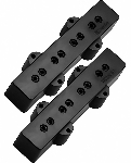DiMarzio DP123 Model J Hum-Cancelling J-Bass Neck and Bridge Pickups, Black