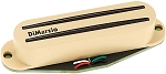 DiMarzio DP186 The Cruiser Hum Cancelling Rails Strat Neck/Middle Pickup, Cream