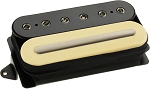 DiMarzio DP228 Crunch Lab John Petrucci F-Spaced Humbucker Bridge Pickup, Black/Cream