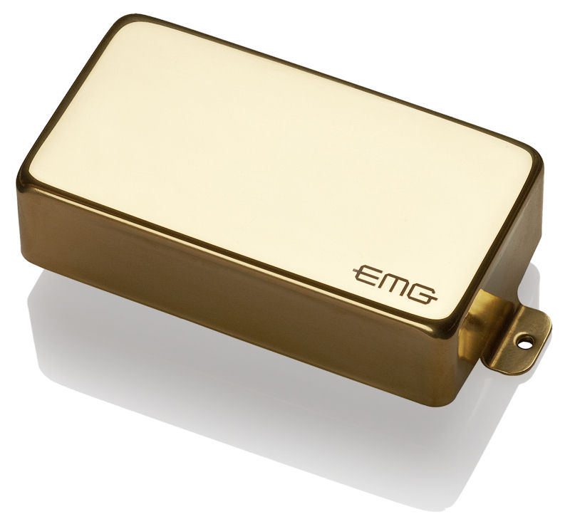 EMG 60 Active Humbucking Electric Guitar Pickup, Gold