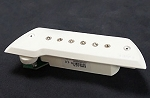 EMG ACS Acoustic Guitar Magnetic Soundhole Pickup, White