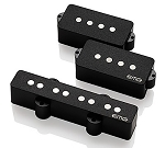 EMG GZR-PJHZ-SET Geezer Butler/Black Sabbath Passive Pickup Set for P/J Bass, Black